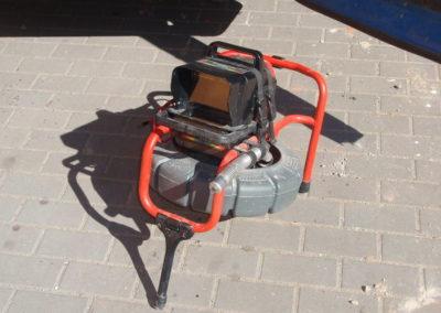 Kamera pro vytyčení trasy i hloubky kanalizace